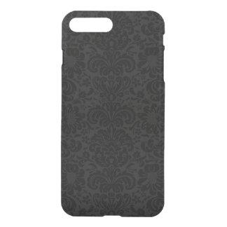 Capa iPhone 8 Plus/7 Plus Teste padrão preto & cinzento elegante dos