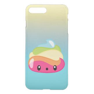 Capa iPhone 8 Plus/7 Plus Tombadilho de Emoji Raimbow!