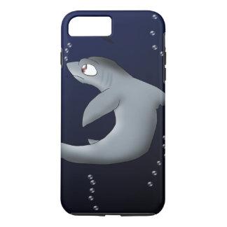 Capa iPhone 8 Plus/7 Plus Tubarão de debulhadora