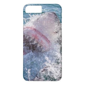Capa iPhone 8 Plus/7 Plus Tubarão na água