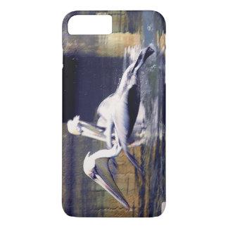 Capa iPhone 8 Plus/7 Plus Um pelicano descola