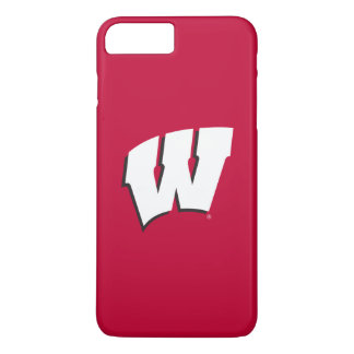 Capa iPhone 8 Plus/7 Plus Universidade de Wisconsin | do logotipo de