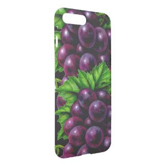 Capa iPhone 8 Plus/7 Plus Uvas para vinho roxas