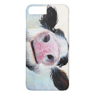 "Capa iPhone 8 Plus/7 Plus Vaca Nosey ""Hey! Como é Goin""? 'Capas de iphone"