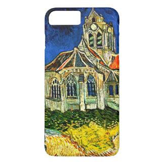 Capa iPhone 8 Plus/7 Plus Van Gogh - a igreja em Arles