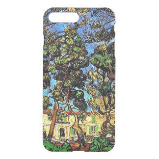 Capa iPhone 8 Plus/7 Plus Van Gogh - árvores no jardim do hospital