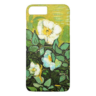 Capa iPhone 8 Plus/7 Plus Van Gogh - rosas selvagens