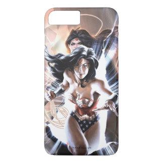 Capa iPhone 8 Plus/7 Plus Variação cómica do cobrir #609 da mulher maravilha