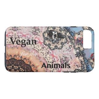 Capa iPhone 8 Plus/7 Plus Vegan para os animais