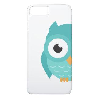 Capa iPhone 8 Plus/7 Plus Verão inteligente 2017 da coruja