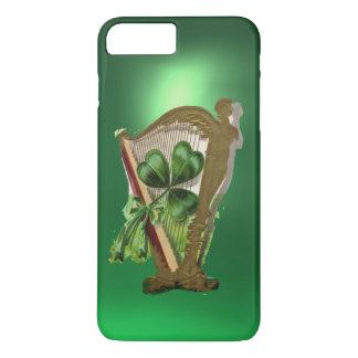 Capa iPhone 8 Plus/7 Plus Verde VERDE da HARPA do TREVO
