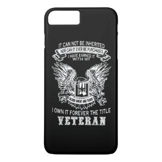 Capa iPhone 8 Plus/7 Plus Veterano