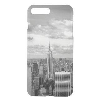 Capa iPhone 8 Plus/7 Plus Viagem do wanderlust da skyline da Nova Iorque NY