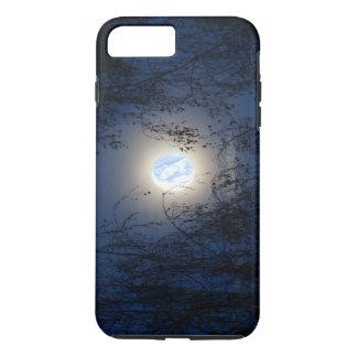 Capa iPhone 8 Plus/7 Plus Virgem Maria abençoada na floresta de Lite da lua