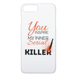 Capa iPhone 8 Plus/7 Plus Você inspira meu assassino em série interno