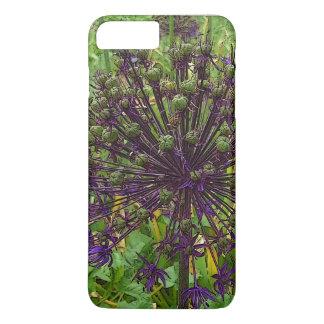 Capa iPhone 8 Plus/7 Plus Web do exemplo de IPhone 7 dos amantes da flor da