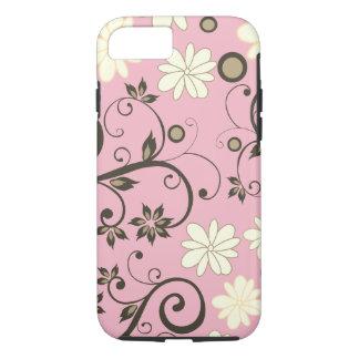 Capa Iphone 8 Rosa Flores de Maio