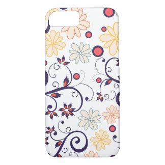Capa Iphone Branca Flores de Maio