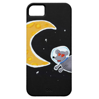 Capa iPhone SE + iPhone 5/5S - Mouse In Space
