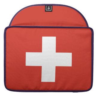 Capa MacBook Pro Bandeira nacional da suiça