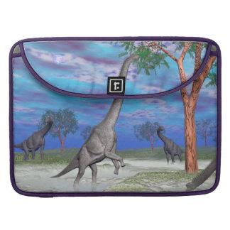 Capa MacBook Pro Comer do dinossauro do Brachiosaurus - 3D rendem