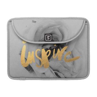 "Capa MacBook Pro Computador portátil saco Macbook Pro"" Grey Gold 13"