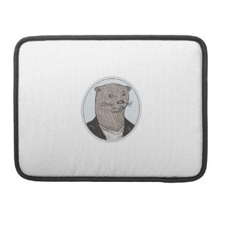 Capa MacBook Pro Da camisa principal do blazer da lontra desenho