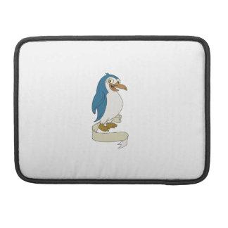 Capa MacBook Pro Desenhos animados do rolo da fita do pinguim