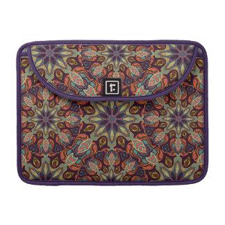 Capa MacBook Pro Design floral do teste padrão do abstrato da
