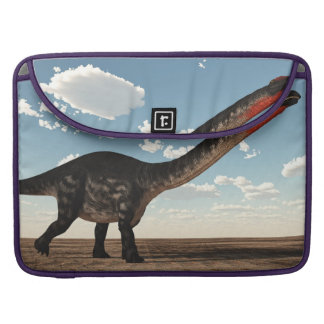 Capa MacBook Pro Dinossauro do Apatosaurus no deserto - 3D rendem