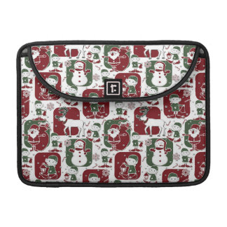 Capa MacBook Pro Duendes & bonecos de neve do Natal
