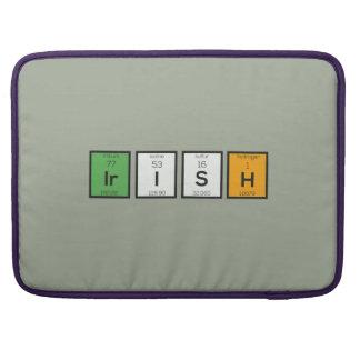 Capa MacBook Pro Elementos químicos irlandeses Zy4ra