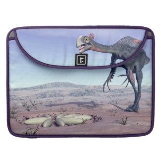 Capa MacBook Pro Gigantoraptor fêmea que vai a seu ninho - 3D