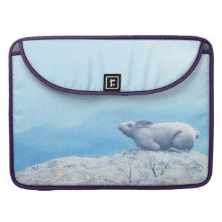Capa MacBook Pro Lebre ártica, lepus ártico, ou coelho polar