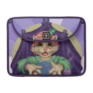 "Capa MacBook Pro Luva 13"" de Macbook do rickshaw do CAT de TAROT"