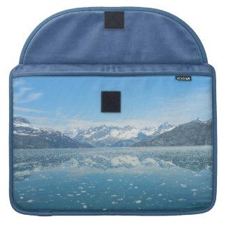 Capa MacBook Pro Luva azul de Macbook da reflexão