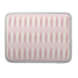 Capa MacBook Pro Luva cor-de-rosa moderna de Argyle MacBook Pro do