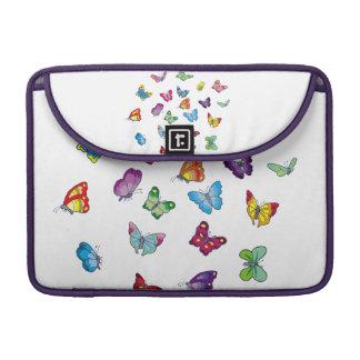 Capa MacBook Pro luva de Macbook do neopreno da borboleta
