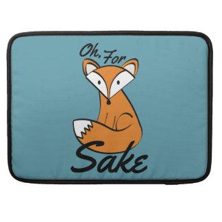 Capa MacBook Pro Oh, para a causa do Fox