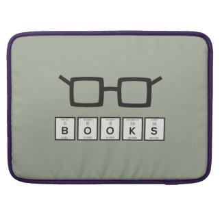 Capa MacBook Pro Registra os vidros Zh6zg do nerd do elemento