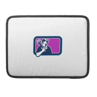 Capa MacBook Pro Retângulo do lado da chave de tubulação do