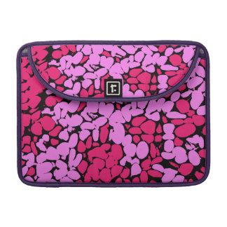 Capa MacBook Pro teste padrão cor-de-rosa