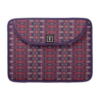 Capa MacBook Pro Teste padrão floral étnico abstrato colorido da