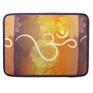 Capa MacBook Pro Teste padrão indiano do ornamento com símbolo do