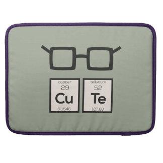 Capa MacBook Pro Vidros bonitos Zwp34 do nerd do elemento químico