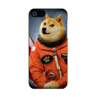 Capa Metálica Para iPhone SE/5/5s cão do astronauta - doge - shibe - memes do doge