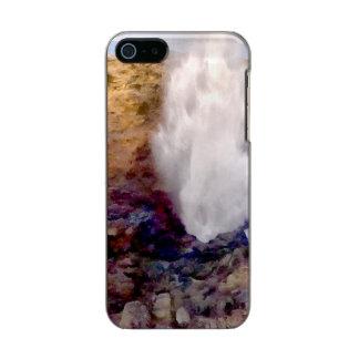Capa Metálica Para iPhone SE/5/5s Chá da água devido às ondas