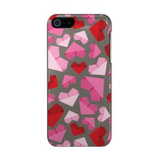 Capa Metálica Para iPhone SE/5/5s Coração