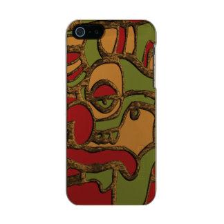 Capa Metálica Para iPhone SE/5/5s Design maia original dos Hieroglyphs