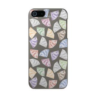 Capa Metálica Para iPhone SE/5/5s Diamantes coloridos para meu querido